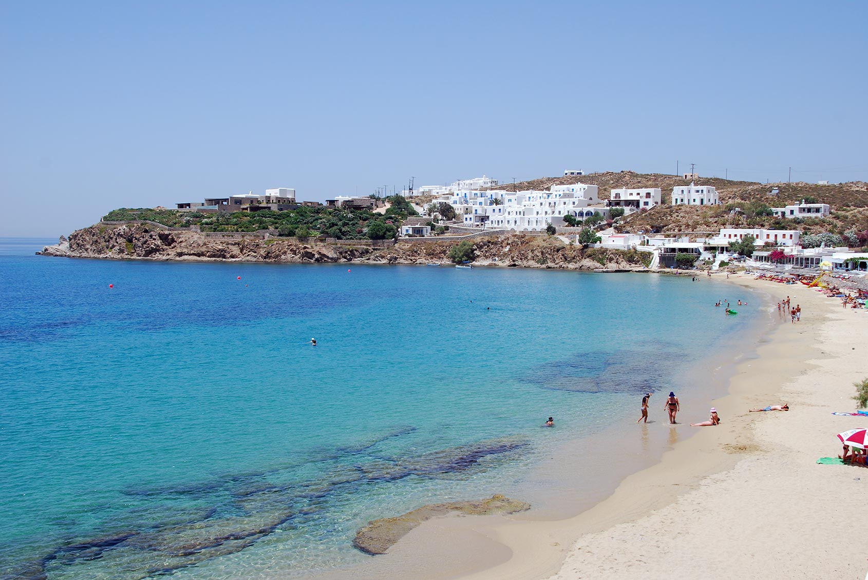 Arodou Mykonos - Agios Stefanos beach